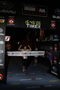 Ironman Finish